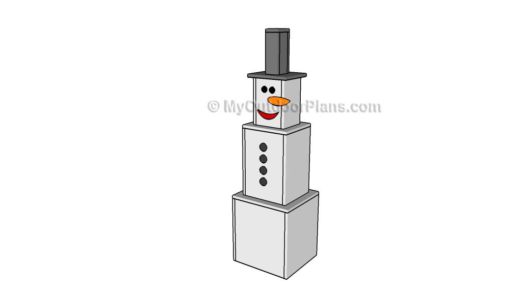 Wooden Snowman Crafts