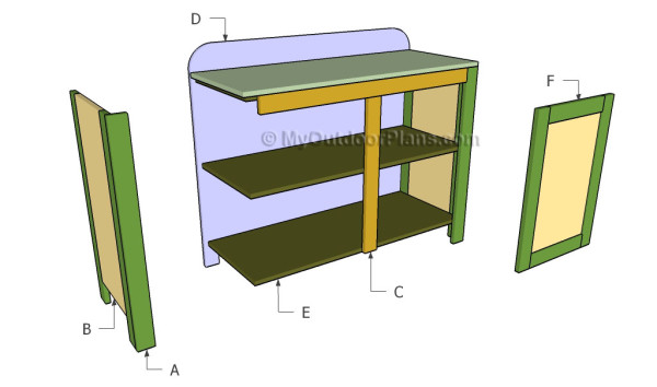 Easy Home Bar Building Plans