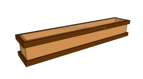 Deck Rail Planter Plans