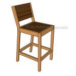 How to build a bar stool