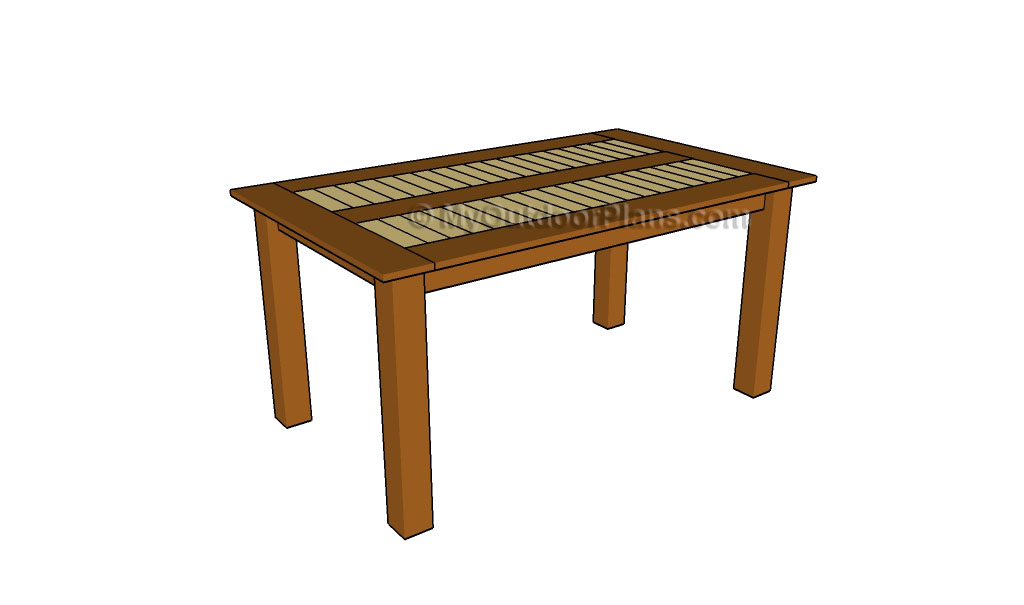 how to make a wooden end table Online Woodworking Plans : Outdoor dining table plans from www.dschang-online.com size 1024 x 605 jpeg 42kB