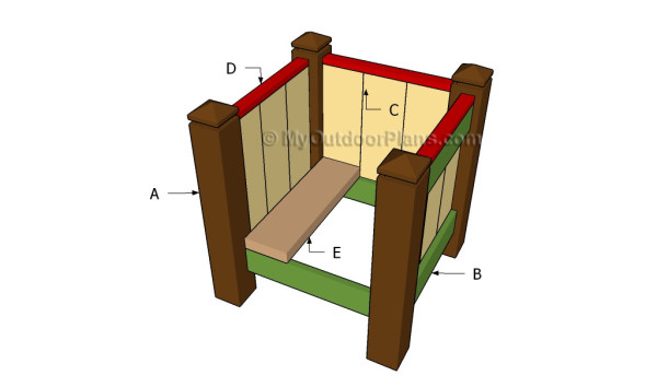 Building a wood planter