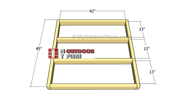 Building-the-chicken-coop-frame