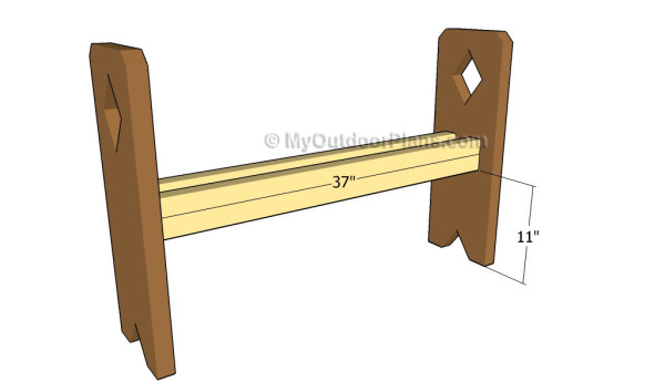 Building the seat supports