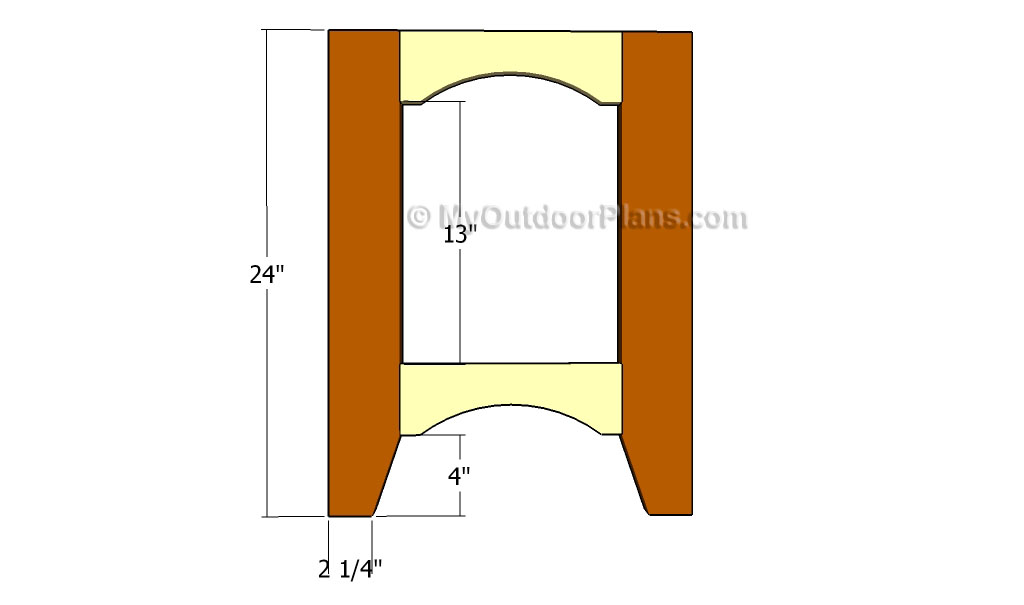 Outdoor Side Table Plans   Free Outdoor Plans - DIY Shed, Wooden ...