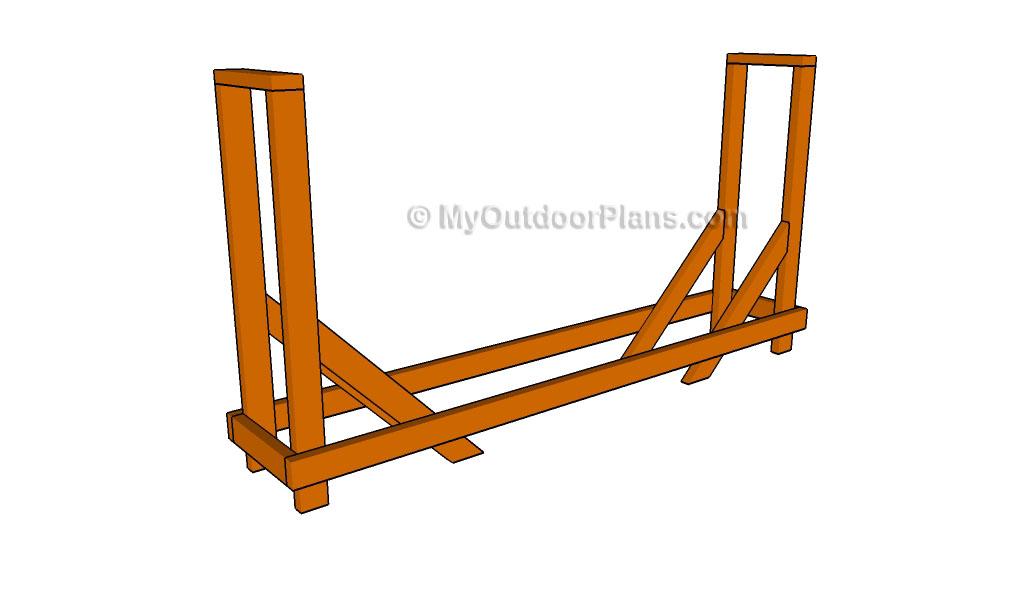 Firewood Rack Plans
