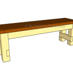 How to build a seat bench