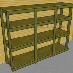How to Build Garden Shelves