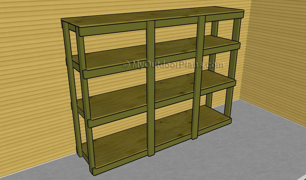 How to Build Garden Shelves