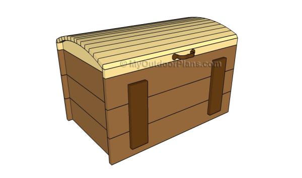 Treasure chest plans