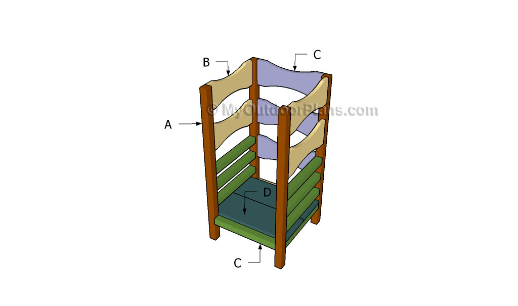 Learning Tower Plans Myoutdoorplans Free Woodworking