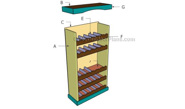 Building a wine rack