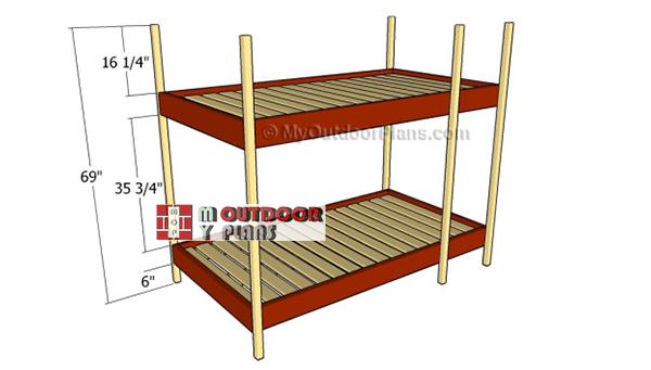 Building-the-frame---attachig-the-legs