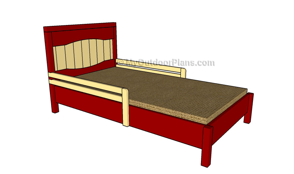 Kids Bed Plans | Free Outdoor Plans - DIY Shed, Wooden Playhouse, Bbq ...