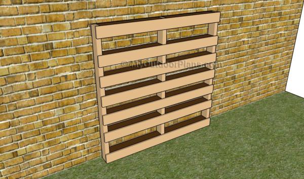 Vertical garden plans