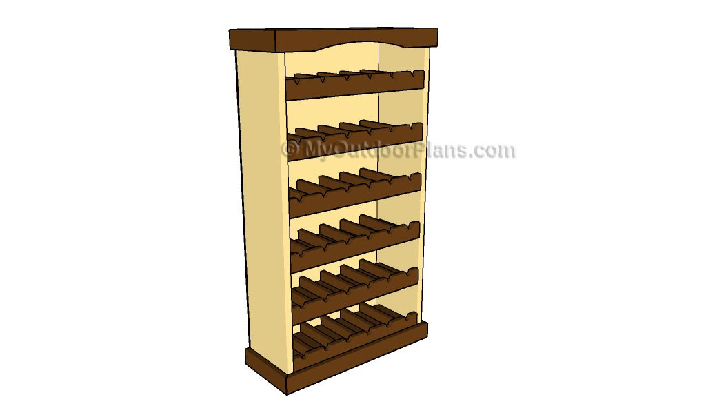 Wine Rack Plans | Free Outdoor Plans - DIY Shed, Wooden Playhouse, Bbq ...