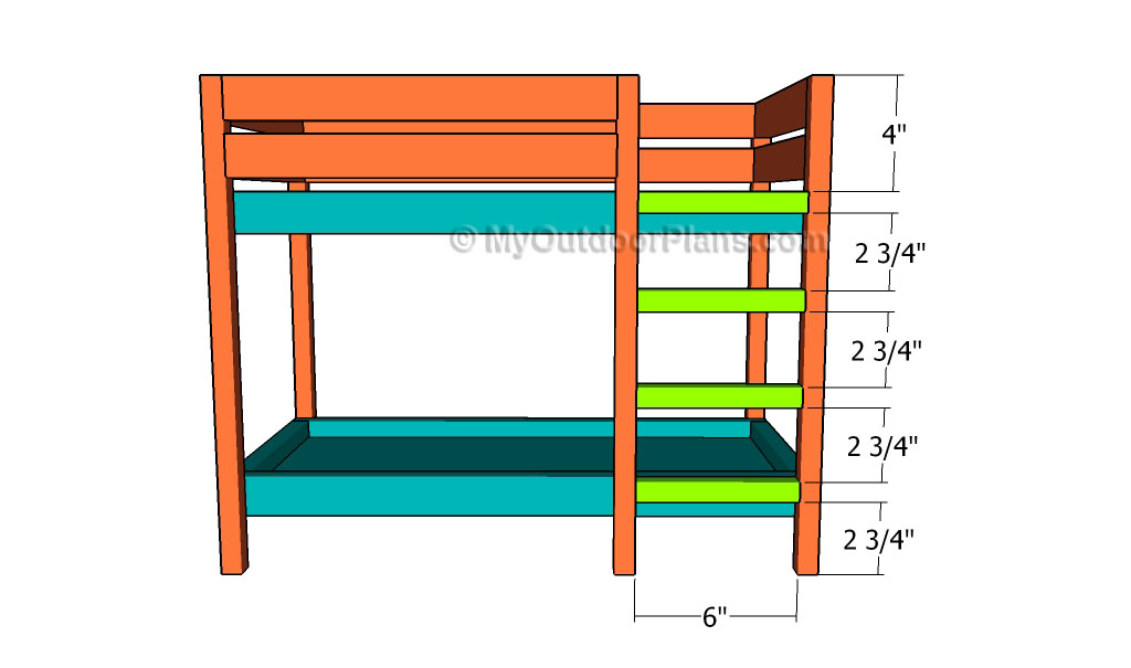 plans for bunk bed ladder | Discover Woodworking Projects