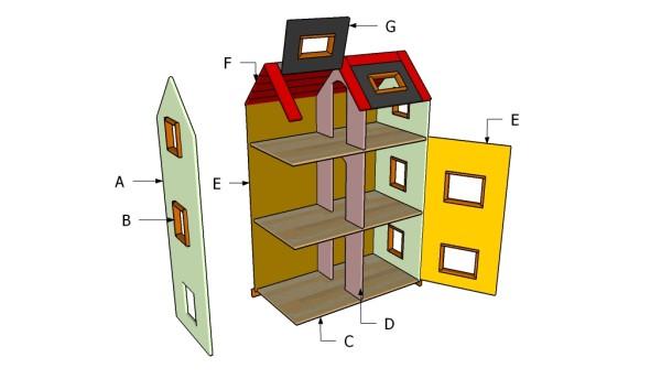 Building a doll house