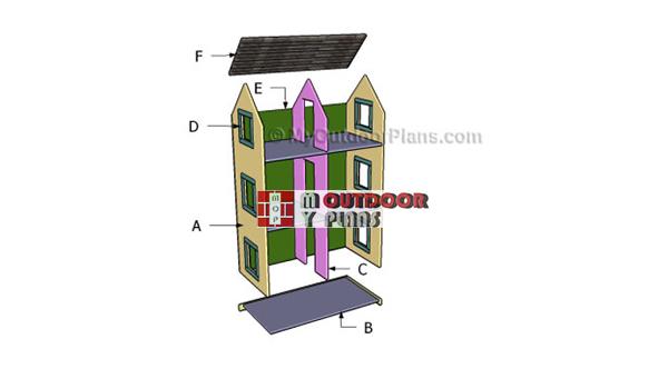 Building-a-doll-playhouse