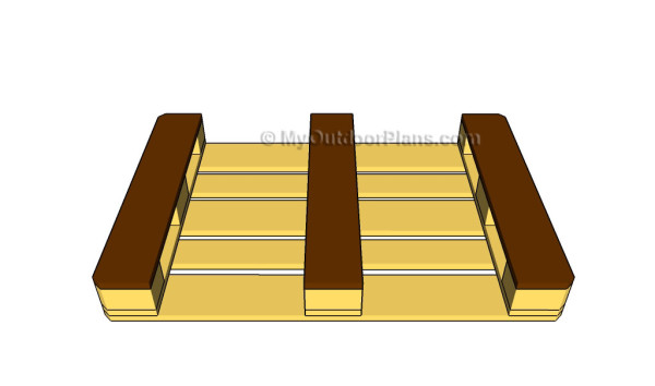 Building the top pallet
