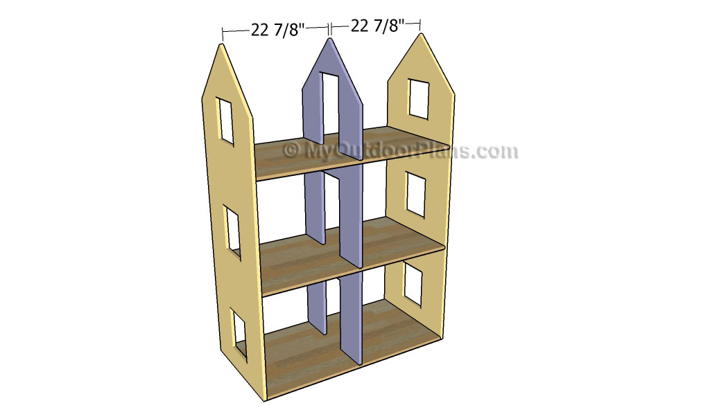 Dollhouse Plans | Free Outdoor Plans - DIY Shed, Wooden Playhouse, Bbq ...