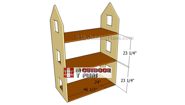 Fitting-the-shelves-to-doll-house