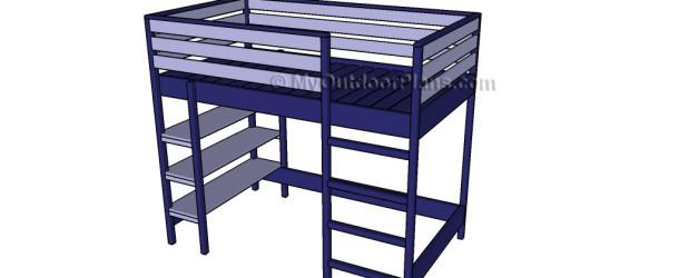 Loft Bed Plans Myoutdoorplans Free Woodworking Plans