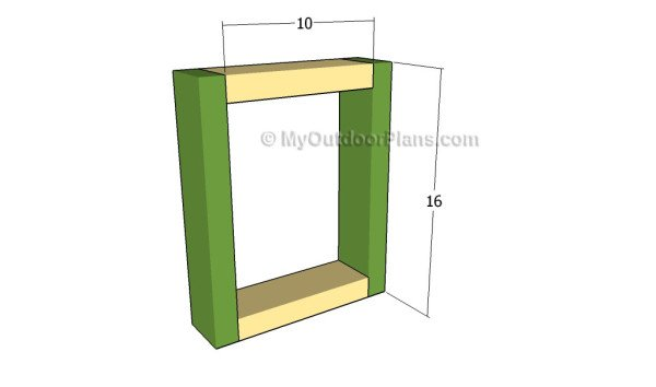 Building the bench supports