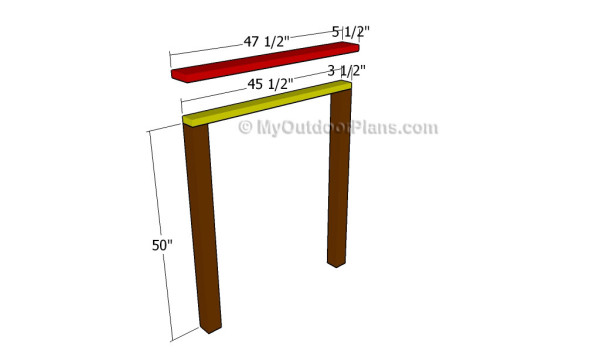Building the headboard frame