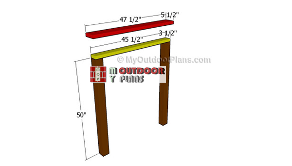 Building-the-headboard-frame