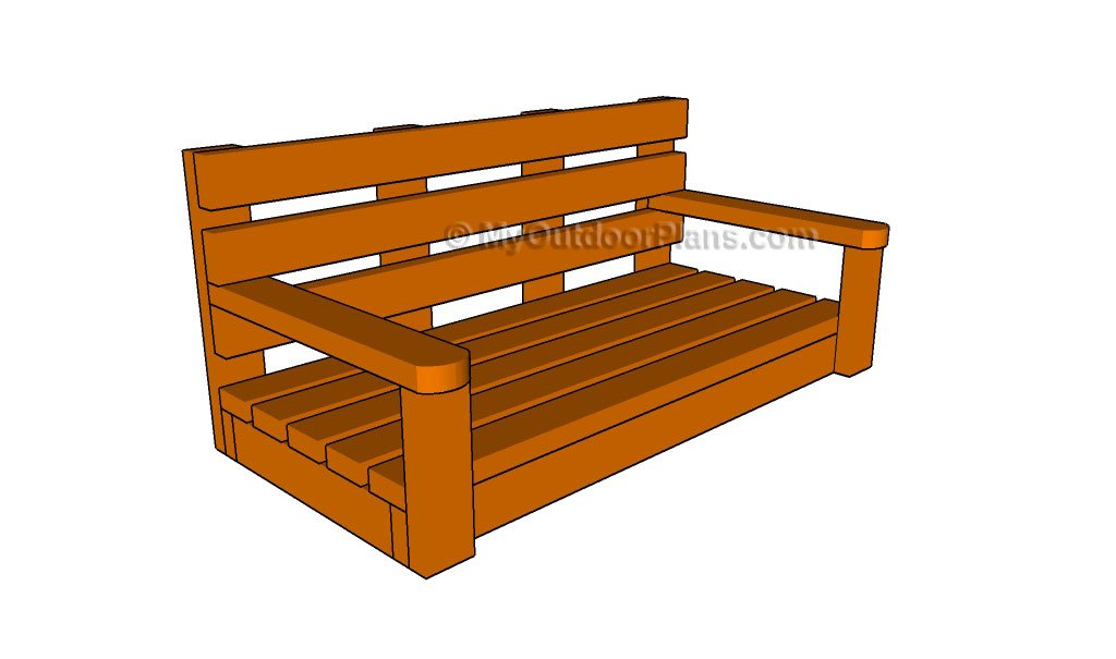 How To Build A Porch Swing Myoutdoorplans Free Woodworking Plans And Projects Diy Shed Wooden Playhouse Pergola Bbq