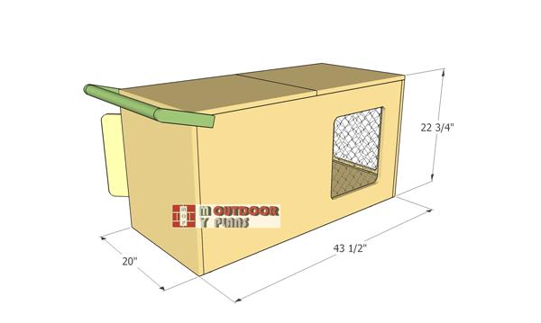 Indoor-rabbit-hutch-plans---full-dimensions