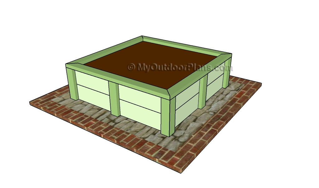 Plans for raised garden beds free outdoor plans diy for Raised bed plans