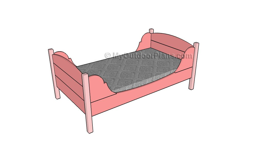 Toddler Bed Plans Myoutdoorplans Free Woodworking Plans And Projects Diy Shed Wooden Playhouse Pergola Bbq