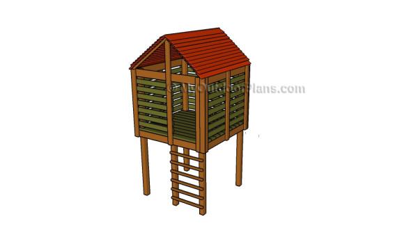 Tree fort plans