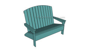 Adirondack Loveseat Plans
