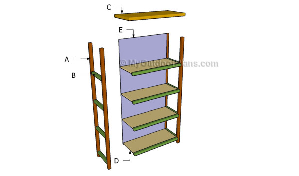 Building a bookcase