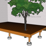 How to Build a Deck Around a Tree