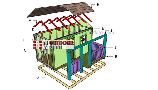 Building-a-kids-playhouse