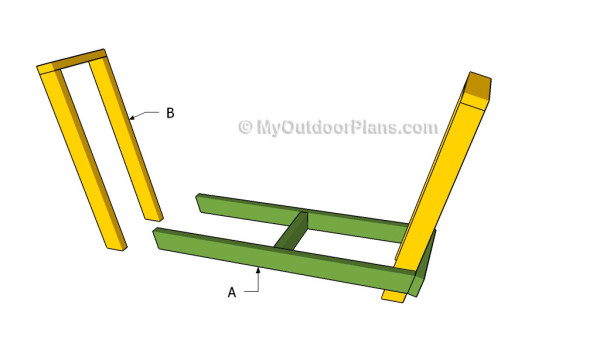 Building a wood rack