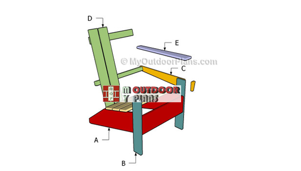 Building-an-adirondack-chair-plans