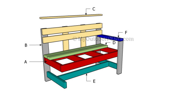 Building an outdoor bench