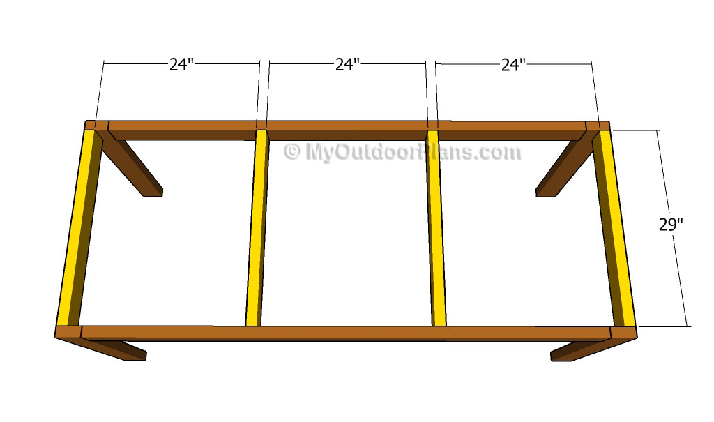 Kitchen table plans free outdoor plans diy shed - Kitchen table building plans ...