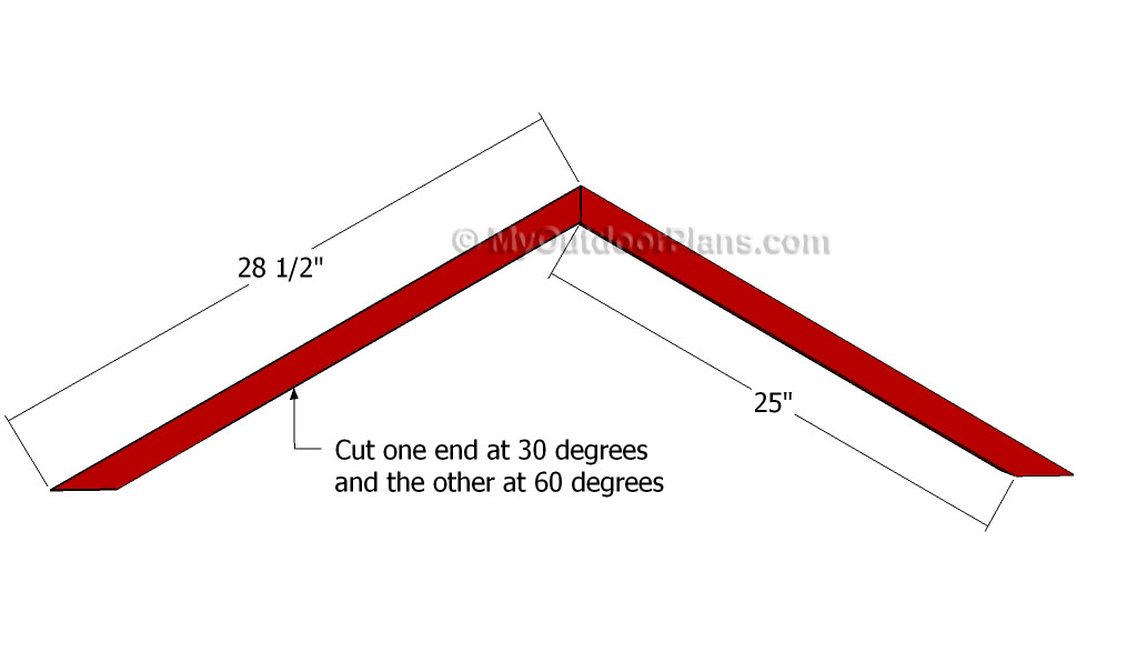 shedlast: Shed roof truss brackets