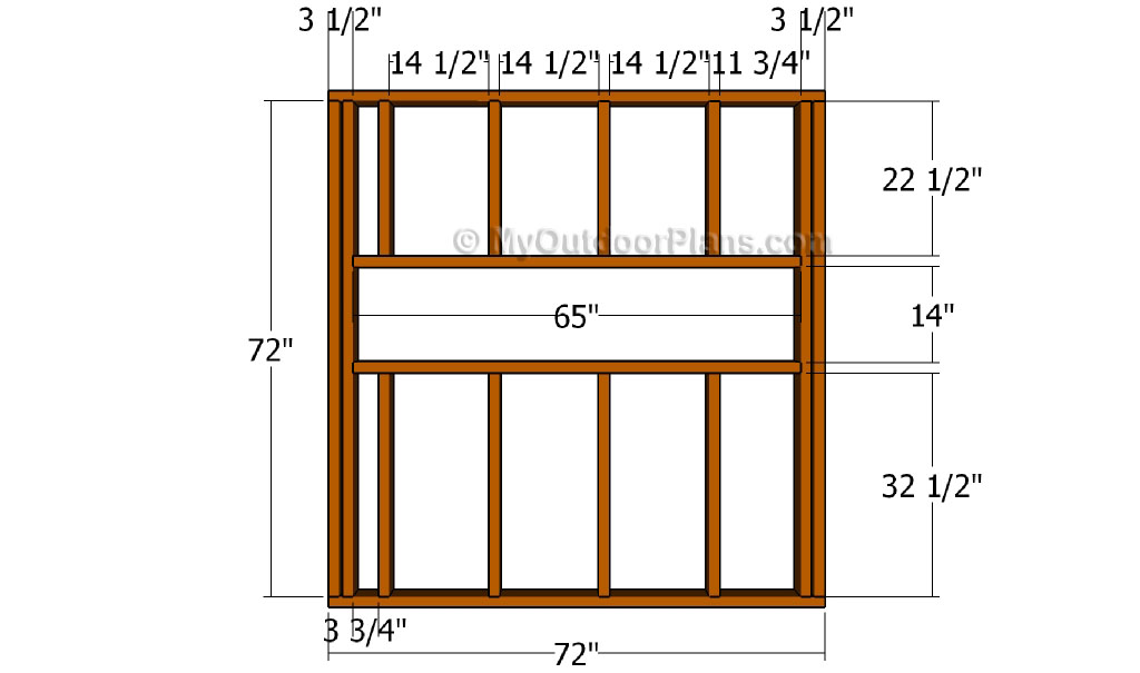 The Gallery For Gt Deer Blind Plans 4x8