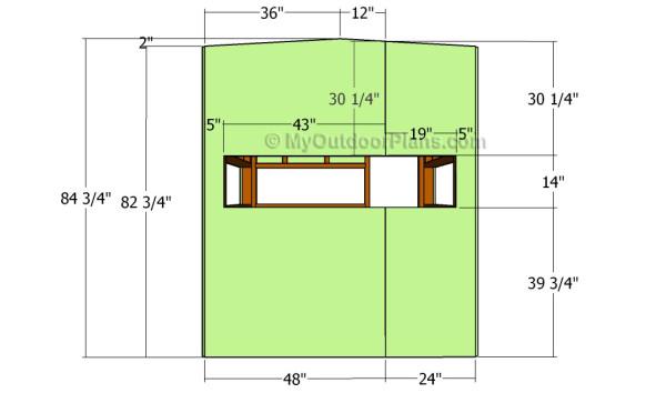 Deer Blind Plans Myoutdoorplans Free Woodworking Plans