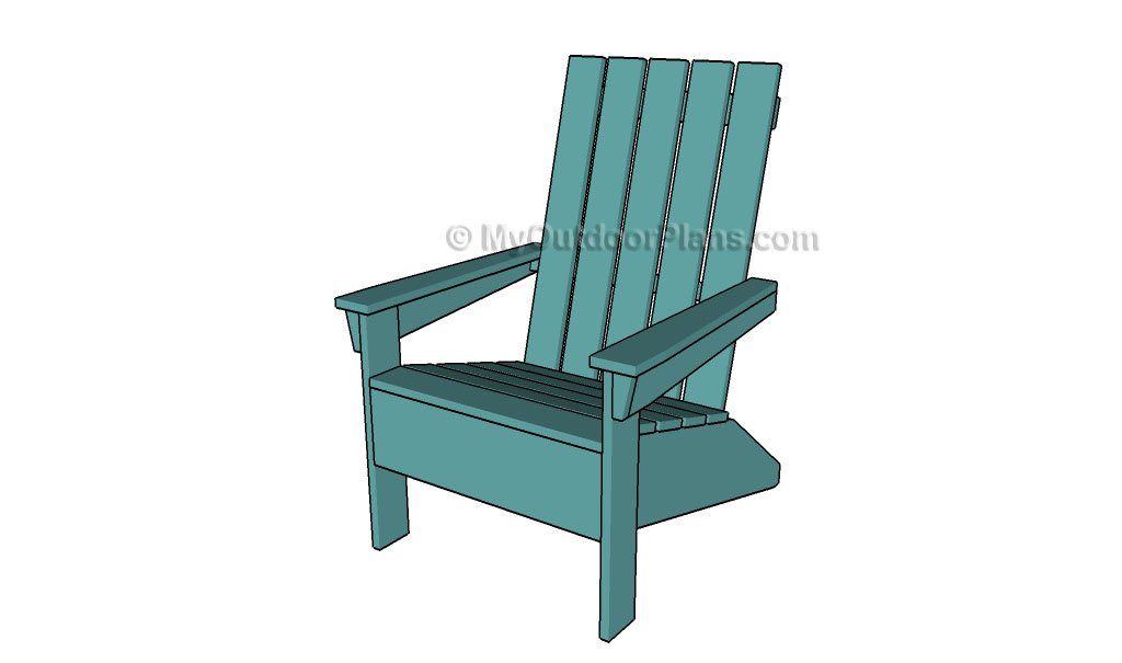 Free Adirondack Chair Plans Deck Chair Plans Outdoor Chair Plans