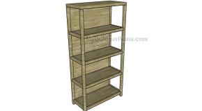 Simple Bookcase Plans