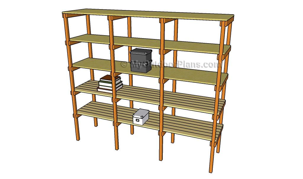 How to Build Storage Shelves