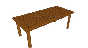Kitchen Table Plans